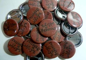 Crypt Of Memories pinback buttons oldschoolpins.com