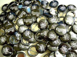 Gluttons HMB Buttons old school pins