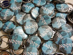 Iagon Buttons old school pins