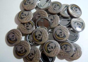 Occult Icons pinback buttons oldschoolpins.com