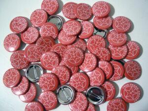 Sombre Mac Pins old school pins