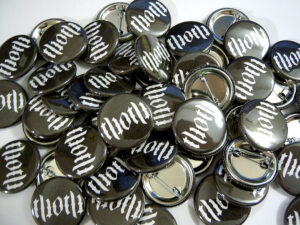 Thoth Buttons old school pins