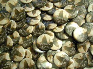 Cernunnos Woods Buttons old school pins